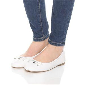 fdcb57ff6 Sam Edelman Shoes - New Sam Edelman White Felicia ballet flats
